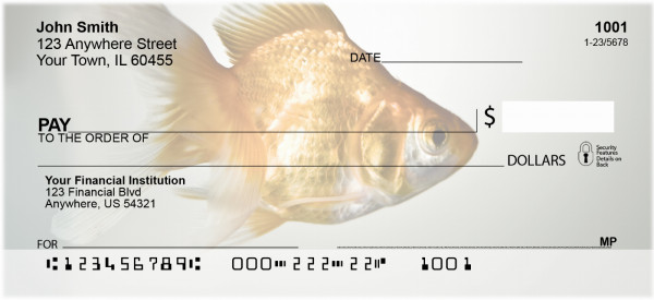 Goldfish Personal Checks
