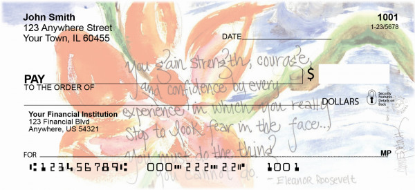 Love & Friendship Personal Checks by Amy S. Petrik