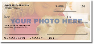 Rotating Photo Checks Personal Checks - 1 Box - Duplicates