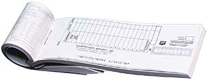 Padded Deposit Slips 1 part