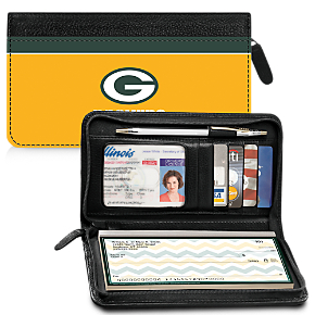 Green Bay Packers NFL Zippered Wallet