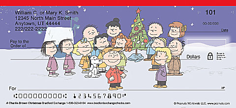 A Charlie Brown Christmas Personal Checks