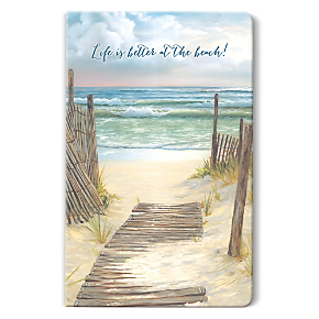 A Walk on the Beach Soft-Touch Paperbound Journal