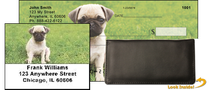 Pugs At The Park Personal Checks Bundle