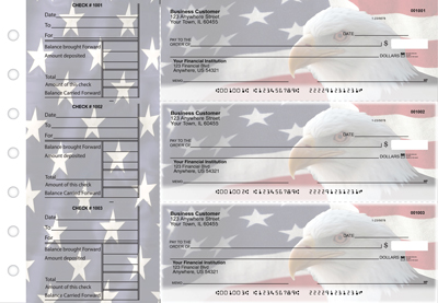 American Flag General Business Checks