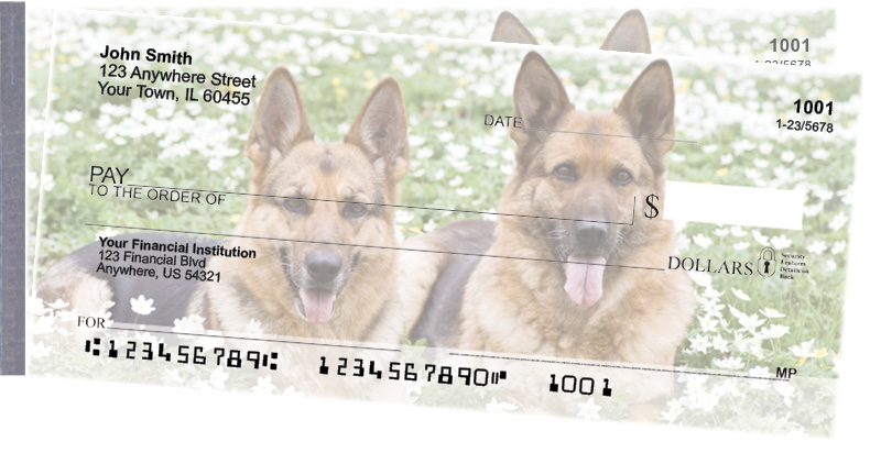 German Shepherd Side Tear Checks