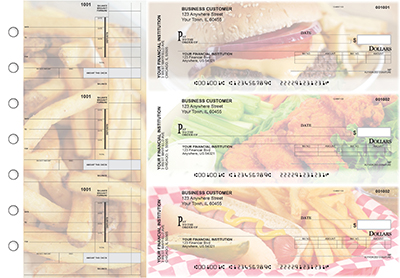 American Cuisine Invoice Business Checks