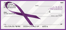 ADD Awareness Ribbon Personal Checks