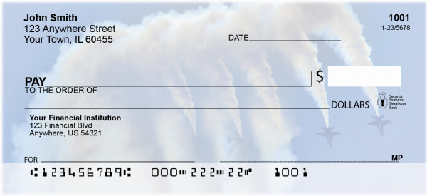 Blue Angels Personal Checks