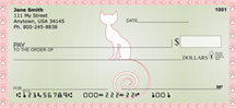 Girly Kitty Cats Personal Checks