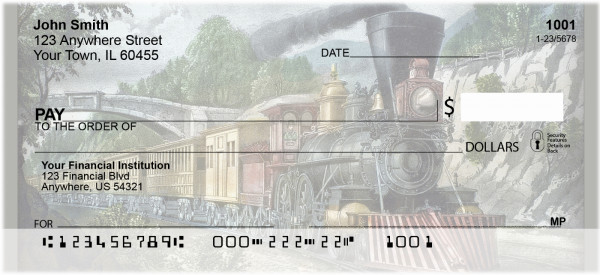 America By Train Personal Checks