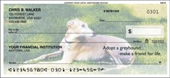 Support Your Local Greyhound Rescue Checks - 1 box - Duplicates