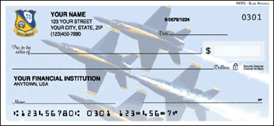 Blue Angels Checks - 1 box - Duplicates
