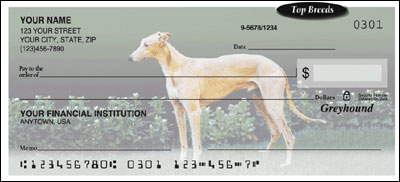 Top Breeds - Greyhound Checks - 1 box - Duplicates