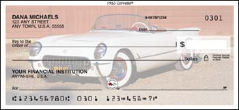 1953 Corvette Checks - 1 box - Duplicates